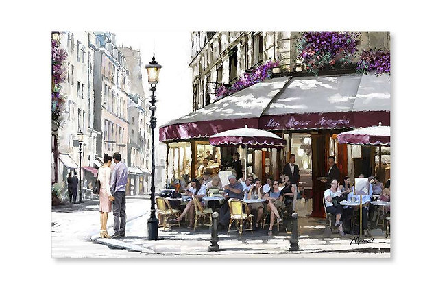 Parisian Cafe by Macneil Studio