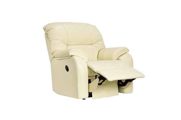 G Plan Mistral Leather Small Manual Recliner Chair