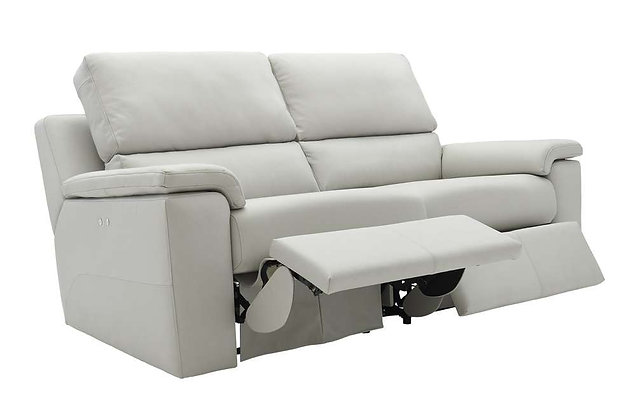 G Plan Taylor Leather 3 Seater Power Recliner Sofa