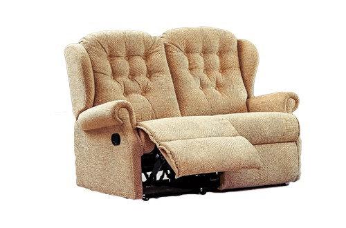 Sherborne Lynton Small 2 Seater Manual Recliner Sofa