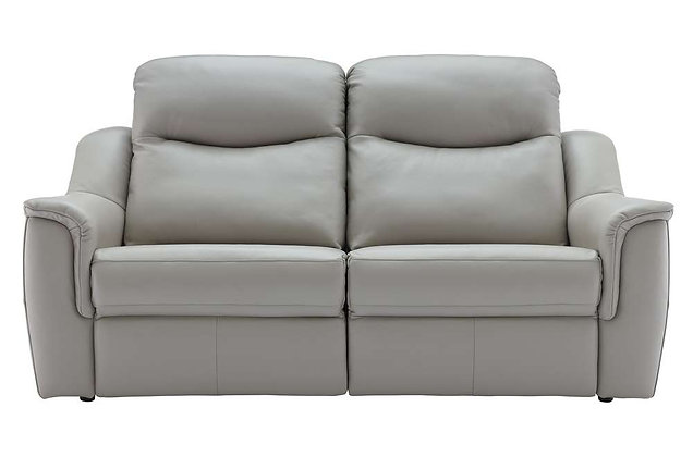 G Plan Firth Leather 3 Seater Sofa
