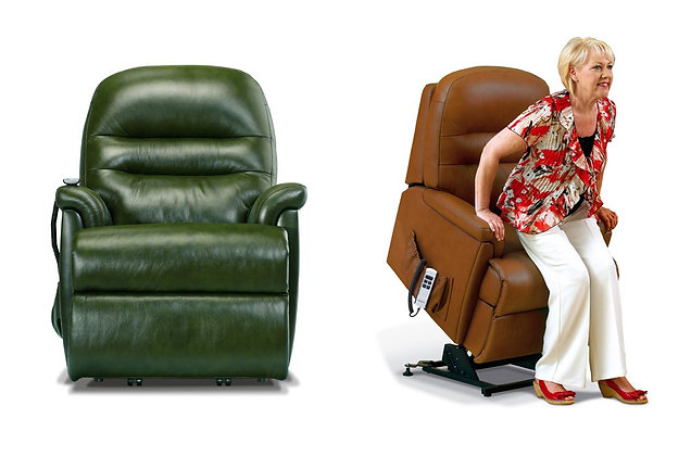 Sherborne Keswick Leather Lift & Rise Care Recliner Chair