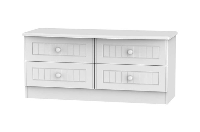 Welcome Bedroom Warwick 4 Drawer Bed Box
