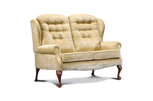 Sherborne Lynton 2 Seater Petite High Seat Legged Sofa