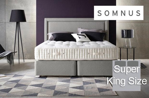 Somnus Sovereign 16000 Super King Size Divan Bed
