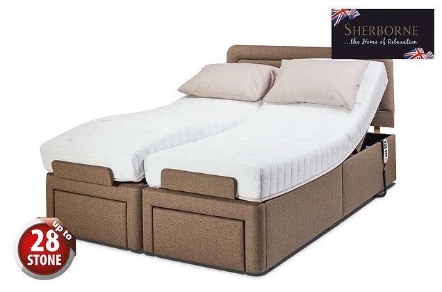 Sherborne Dorchester 150cm King Size Head & Foot Adjustable Divan Bed