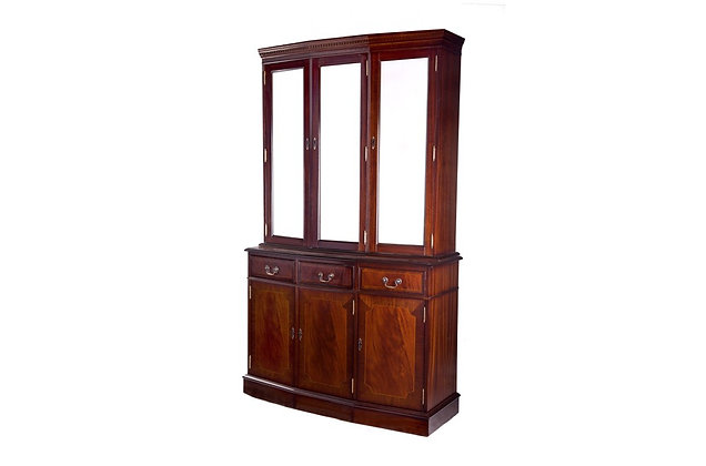 Ashmore Simply Classical 4ft Cantered Display Cabinet