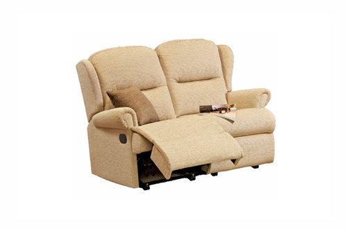 Sherborne Malvern Small 2 Seater Power Recliner Sofa