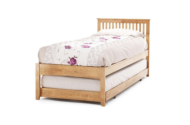Freya Guest Bed - Honey Oak