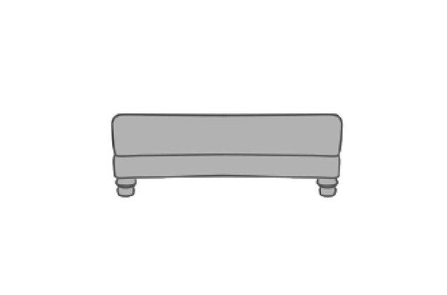 Hayley Large Storage Footstool