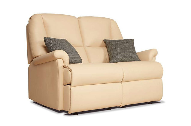 Sherborne Milburn Leather Standard 2 Seater Sofa
