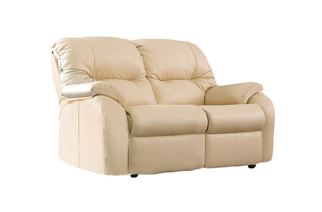 G Plan Mistral Leather Small 2 Seater Sofa