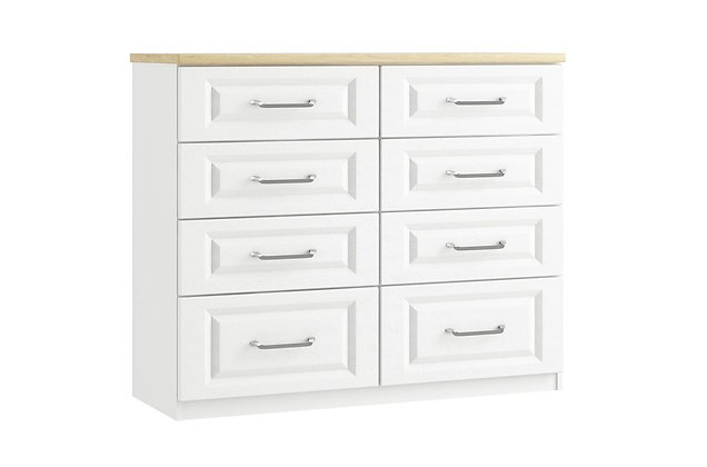 Sorrento 4 Drawer Twin Chest