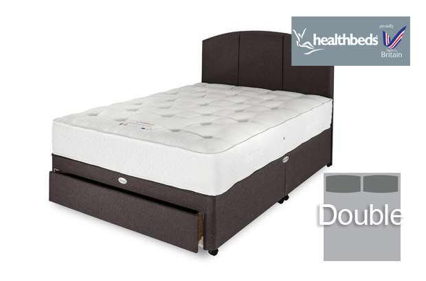 Healthbeds Manhattan 1000 Double Divan Bed