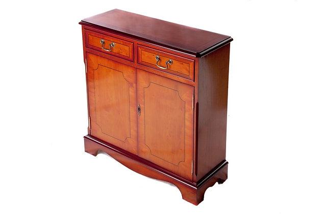 Ashmore Simply Classical 2 Door Slim Bookcase