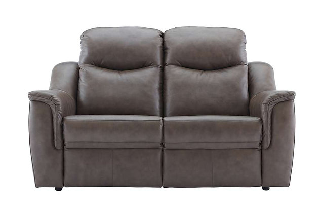G Plan Firth Leather 2 Seater Sofa