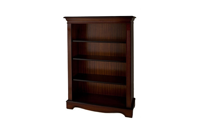 Ashmore Simply Classical 4ft Open Bookcase