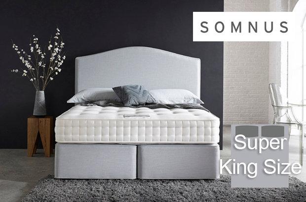 Somnus Viceroy 4550 Super King Size Divan Bed