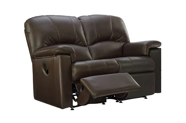 G Plan Chloe Leather Left Hand Facing Single Power 2 Seater Recliner Sofa