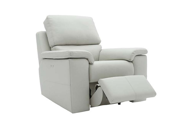 G Plan Taylor Leather Power Recliner Chair