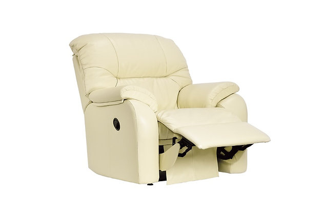 G Plan Mistral Leather Manual Recliner Chair