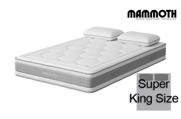Mammoth Shine Essential Medium Pocket Super King Size Mattress