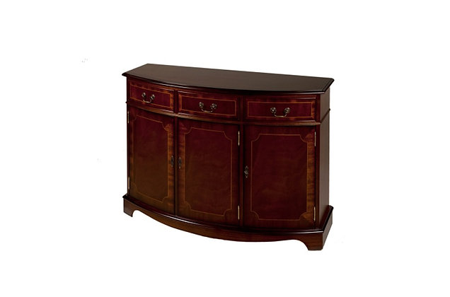Ashmore Simply Classical 3 Door Bow Sideboard