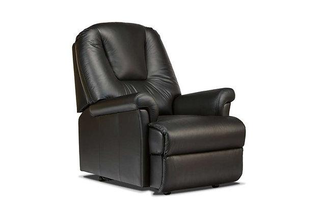 Sherborne Milburn Leather Petite Armchair