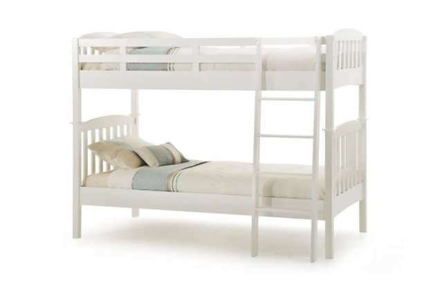 Eleanor Bunk Bed - Opal White