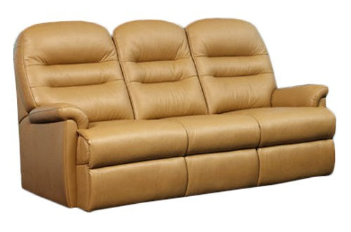 Sherborne Keswick Leather 3 Seater Sofa