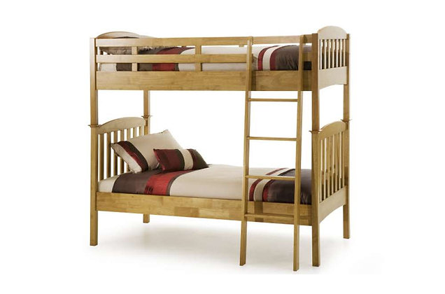Eleanor Bunk Bed - Honey Oak