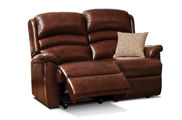 Sherborne Olivia Leather 2 Seater Recliner Sofa