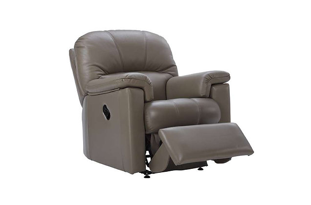 G Plan Chloe Leather Small Power Recliner Chair