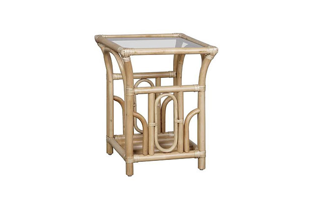 Baltimore Cane Side Table