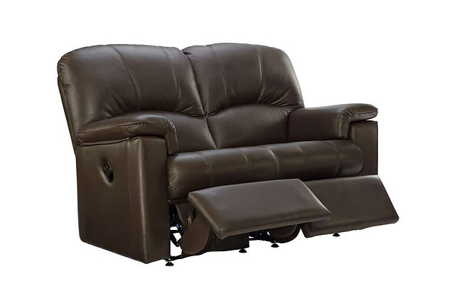 G Plan Chloe Leather Double Power 2 Seater Recliner Sofa