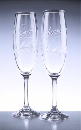 Flûte à champagne parrain marraine