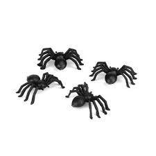 Fausses araignées halloween