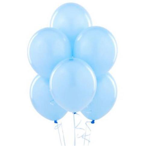 Ballons bleus