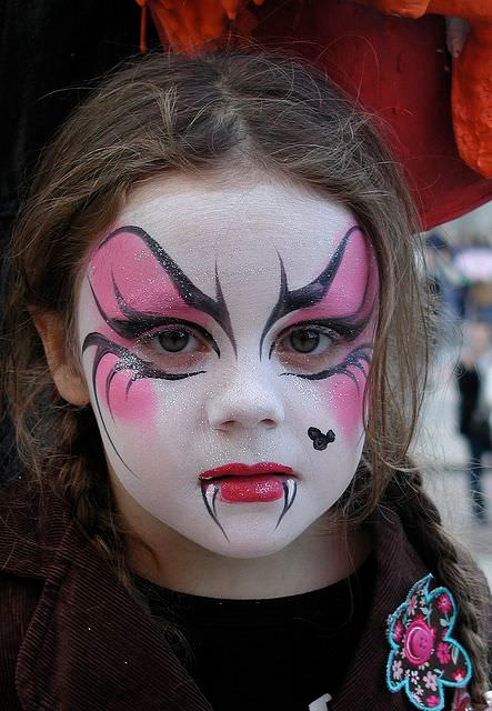 maquillage fille halloween