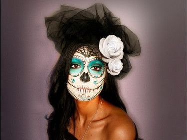 Maquillage day of the death
