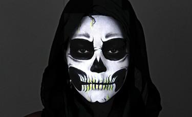 Maquillage visage halloween