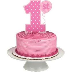 bougie-anniversaire- chiffre-1-an