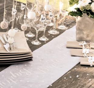 Décoration de table baptème