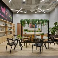 Perpustakaan dan Ruang Kumpul Bersama, Lantai Sembilan