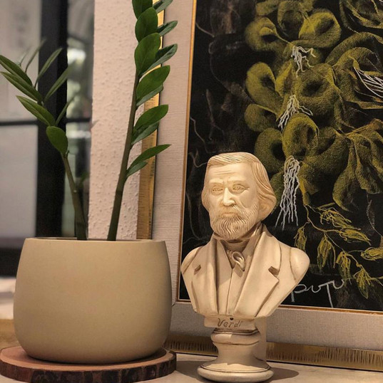 Bust of Verdi