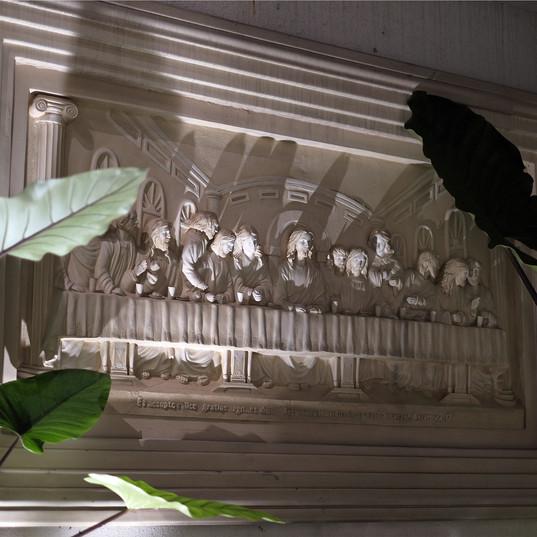 Large Last Supper Sculpture
