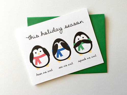 No Evil Penguins