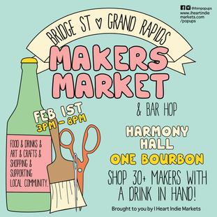 Bridge St Makers Market & Bar Hop