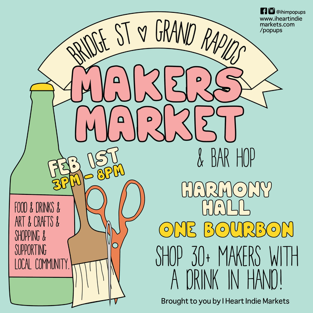 Bridge St Makers Market & Bar Hop