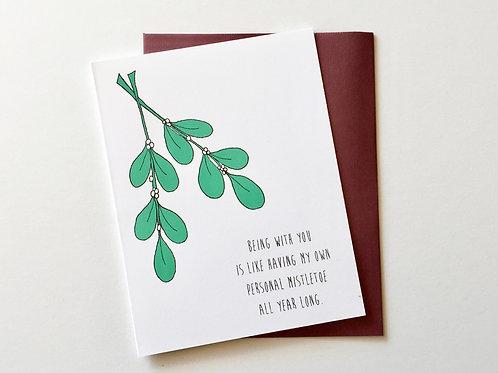 Personal Mistletoe